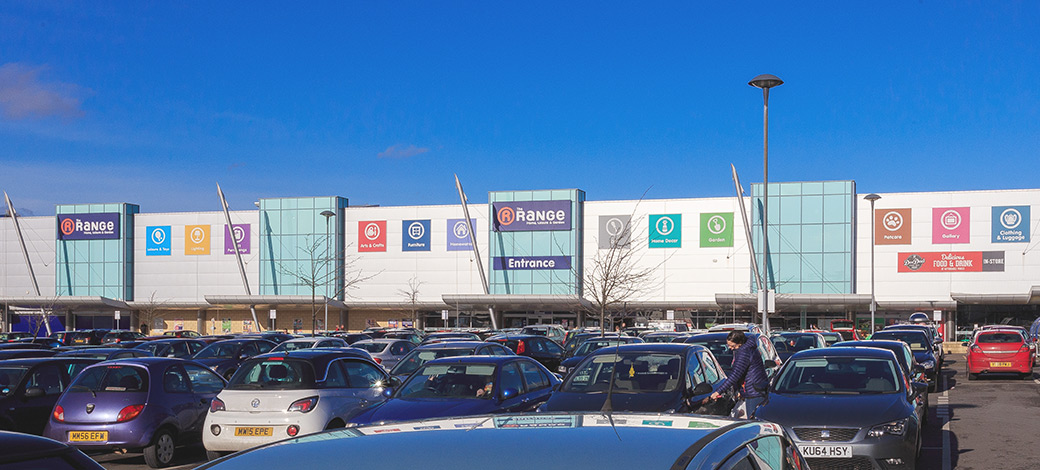 Overview of stores on West One Retail Park - Eccles, Manchester